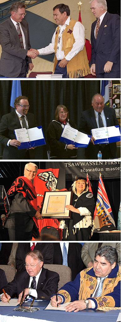 Treaty Signings